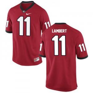 Georgia Bulldogs Greyson Lambert #11 College Jersey - Red