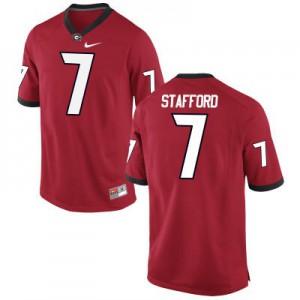 Georgia Bulldogs Matthew Stafford #7 College Jersey - Red